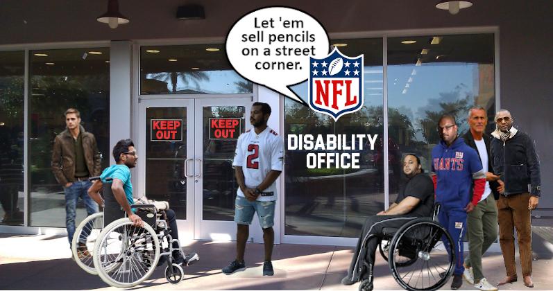 Lawsuit Seeks to Halt NFL Disability Cuts